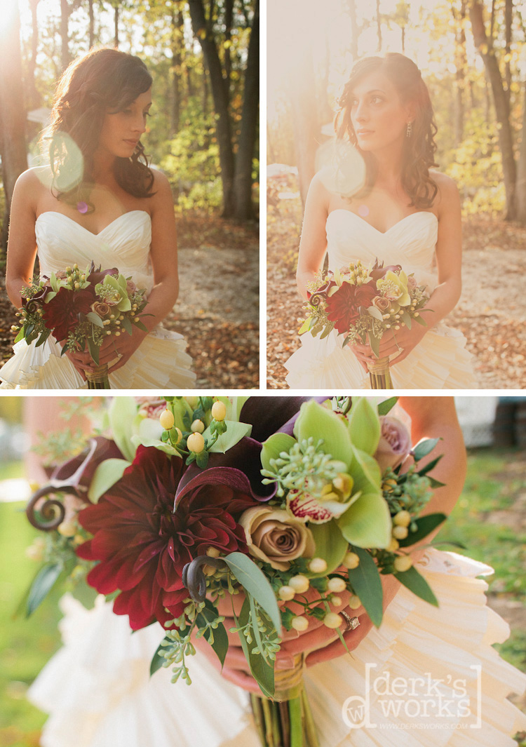 beautiful natural light - bride