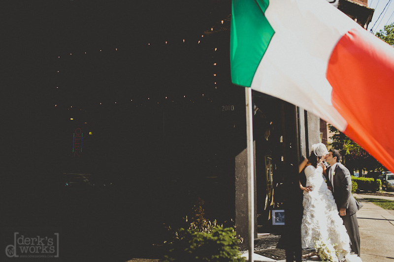 little italy wedding pictures
