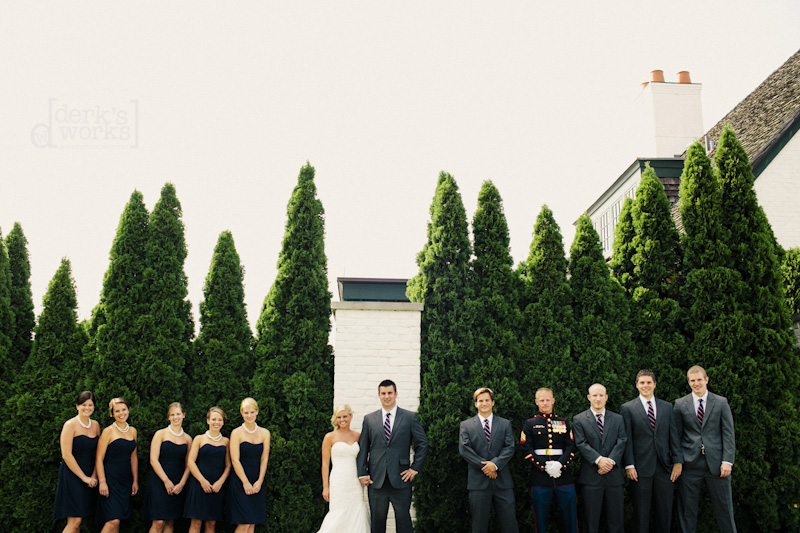 awesome bridal party