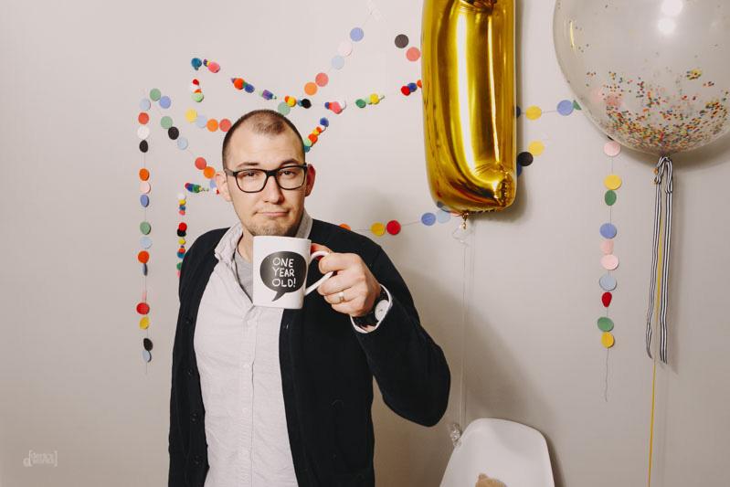 Derks Works George's First Birthday_009