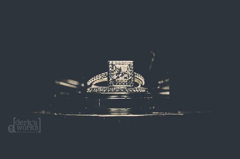 Ring shot Columbus wedding photography cleveland ohio
